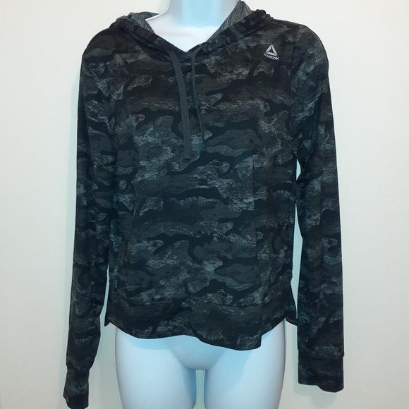 👚3 for$25👚Reebok Hooded Sweatshirt. 🇨🇦 Small